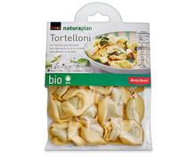Coop Naturaplan Bio-Tortelloni Spinat und Ricotta, 2 x 250 g, Duo