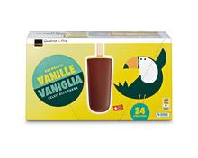Coop Rahmglace Vanille, Fairtrade Max Havelaar, 24 x 57 ml