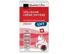 Coop Vollrahm UHT, IP-Suisse, 6 x 250 ml
