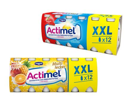 Danone Actimel Drink Multifrucht/Erdbeere