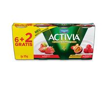 Danone Activia Früchte-Mix, 8 x 115 g