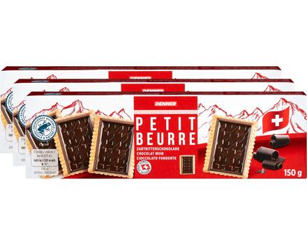 Denner Petit Beurre mit Zartbitterschokolade