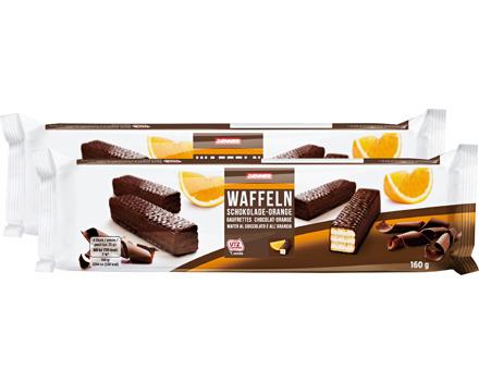 Denner Schokolade-Orange-Waffelgebäck