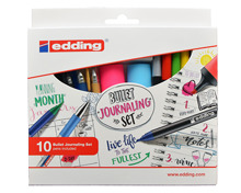 EDDING® BULLET JOURNALING SET, 10-TEILIG