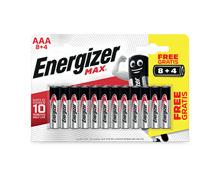 Energizer Batterie Max AAA / AA