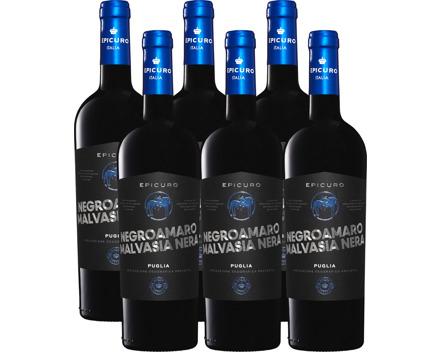 Epicuro Blu Negroamaro/Malvasia Nera Puglia IGP