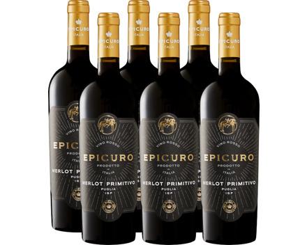Epicuro Oro Merlot/Primitivo Puglia IGP
