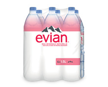 Evian ohne Kohlensäure