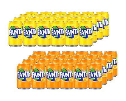 Fanta Orange/Lemon