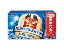Feldschlösschen Bier Original, 24 x 33 cl