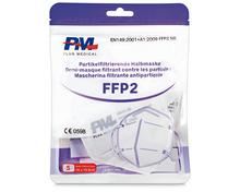 FFP2-Maske filtrierend, 5 Stück