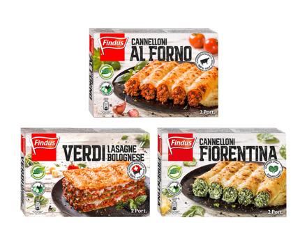 Findus Lasagne/Cannelloni