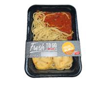 Fresh to go Menüs Ravioli Limone/ Piccata Milanese