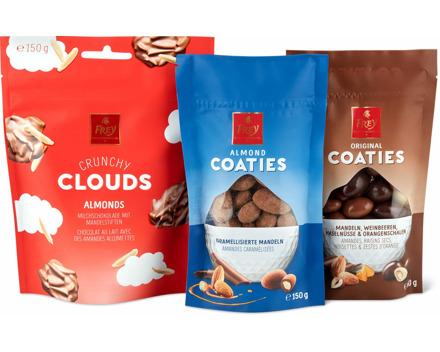 Frey-Crunchy-Clouds und -Coaties