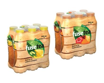 Fuse Tea Lemon & Lemongrass/Peach Hibiscus