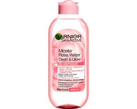 Garnier Mizellen-Reinigungswasser mit Rosenwasser
