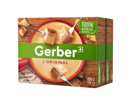 Gerber L'Original Fondue 2 x 800 g