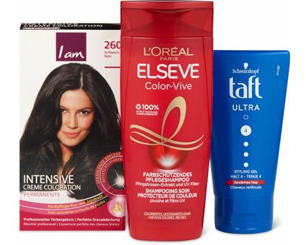 Gesamtes Haar-Produkte-Sortiment