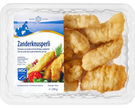 Gourmet Fisheries Zanderknusperli