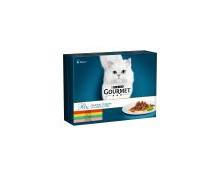 Gourmet Katzennassnahrung