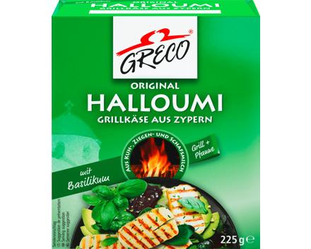 Greco Halloumi Grillkäse Basilikum