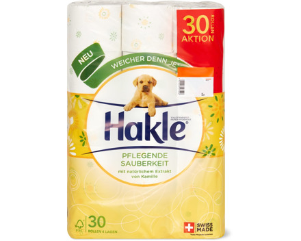 Hakle Toilettenpapier, FSC