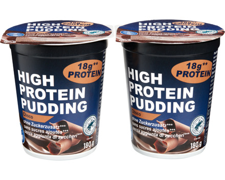High Protein Pudding