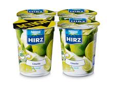 Hirz Jogurt Limette, 4 x 180 g, Quattro
