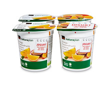 Jogurt des Monats: Coop Naturaplan Bio-Jogurt Orange-Passionsfrucht, 4 x 150 g, Quattro