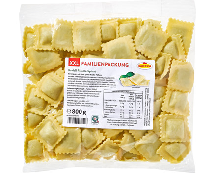 Karnerta Ravioli Ricotta und Spinat