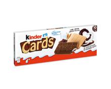 Kinder Cards Biscuits / Schokolade Riegel / Schoko Bons