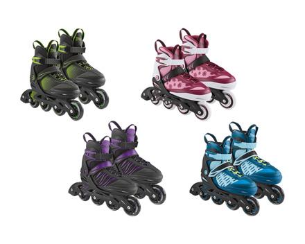 Kinder-Softboot-Inlineskates