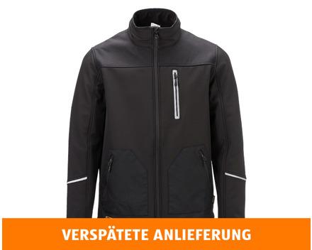 KING CRAFT HERRENSOFTSHELL-ARBEITSJACKE