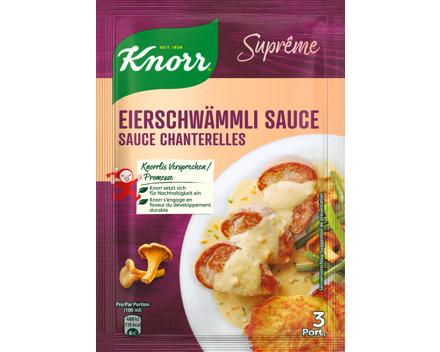 Knorr Suprême Sauce Eierschwämmli