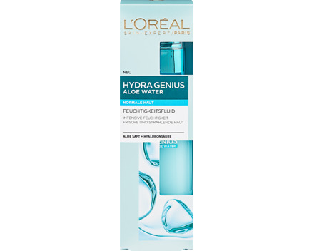 L'Oréal Feuchtigkeitsfluid Hydra Genius Aloe Water