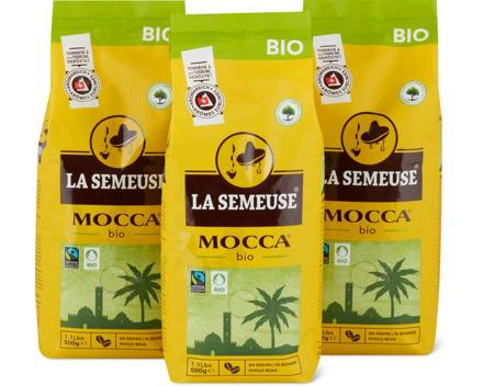 La Semeuse Mocca, in Bohnen oder gemahlen