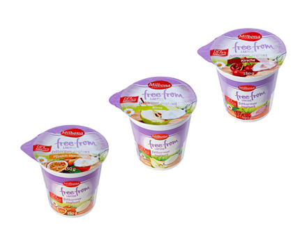 Laktosefreier Fruchtjoghurt