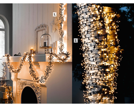 LED-Galaxielichterkette 1000 LEDs