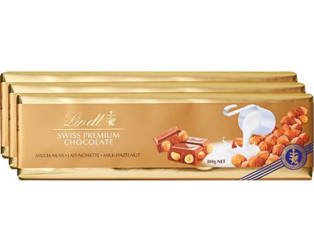 Lindt Goldtafel Milch-Nuss