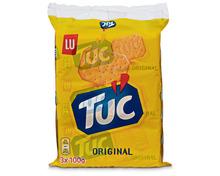 Lu Tuc Crackers Original, 3 x 100 g, Trio