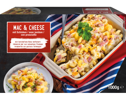 Mac & Cheese Nudelauflauf