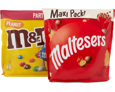 Maltesers oder M&M's