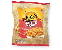 McCain 1.2.3 Frites/ Country Potatoes Classic/Golden Sprinter/Crusty Longs