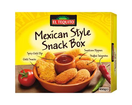 Mexikanische Snack-Box