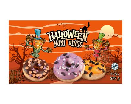 Mini Halloween Donuts