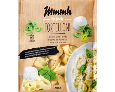 Mmmh Tortelloni Ricotta und Spinat