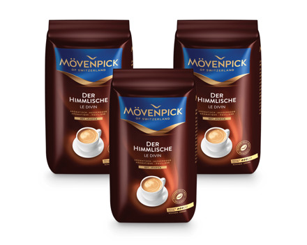 Mövenpick Kaffee «der Himmlische» Bohnen / gemahlen