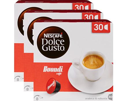 Nescafé Dolce Gusto Kaffeekapseln Buondi