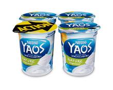 Nestlé Yaos Jogurt Nature, ungesüsst, 4 x 150 g, Quattro