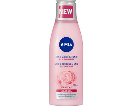 Nivea 2 in 1 Milch & Tonic mit Rosenwasser